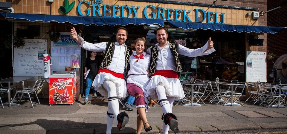 The Greedy Greek Deli - Sheffield